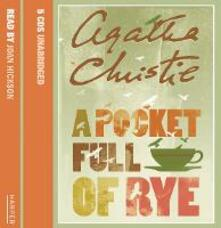 A Pocket Full of Rye - Agatha Christie - cover