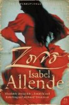 Zorro - Isabel Allende - cover