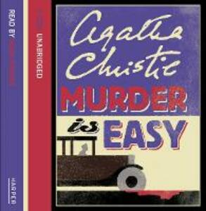 Murder is Easy - Agatha Christie - cover