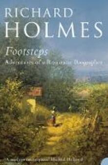 Footsteps - Richard Holmes - cover