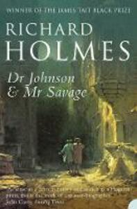 Dr Johnson and Mr Savage - Richard Holmes - cover