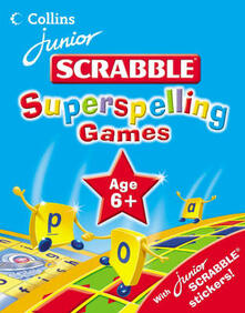 Superspelling Games 6 Plus - James David - cover