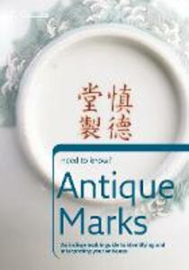 Antique Marks - cover