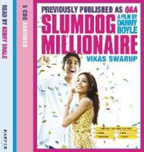 Slumdog Millionaire - Vikas Swarup - cover