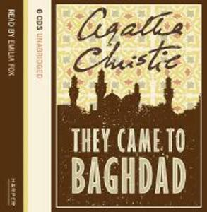 They Came to Baghdad - Agatha Christie - cover