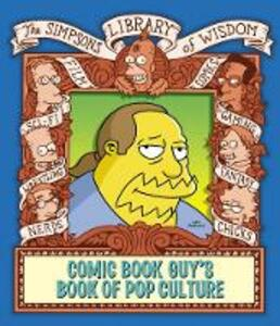 The Comic Book Guy's Book of Pop Culture - Matt Groening - cover
