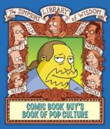 The Comic Book Guy's Book of Pop Culture - Matt Groening - cover