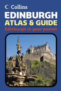 Edinburgh Atlas and Guide - Collins UK - cover