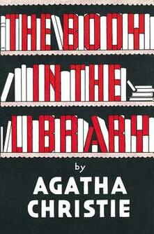 The Body in the Library - Agatha Christie - cover