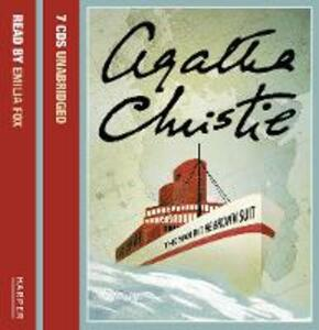 The Man in the Brown Suit - Agatha Christie - cover