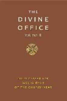 Divine Office Volume 3 - cover