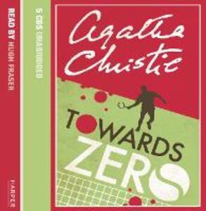Towards Zero - Agatha Christie - cover