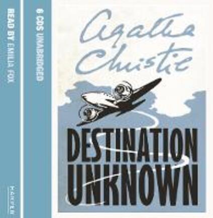 Destination Unknown - Agatha Christie - cover