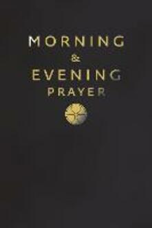 Morning and Evening Prayer - cover