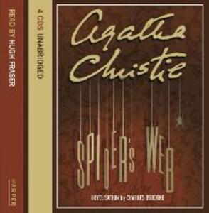 Spider's Web - Agatha Christie - cover