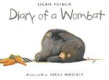 Diary of a Wombat - Jackie French - cover