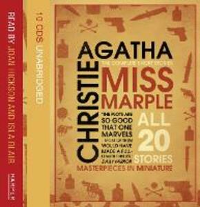 Miss Marple Complete Short Stories Gift Set - Agatha Christie - cover