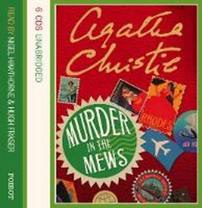 Murder in the Mews: And Other Stories - Agatha Christie - cover