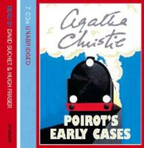 Poirot's Early Cases - Agatha Christie - cover
