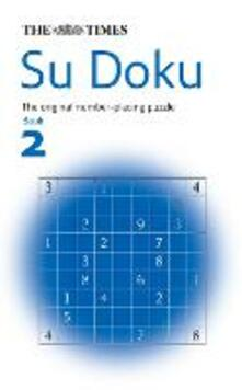 The Times Su Doku Book 2: 100 Challenging Puzzles from the Times - cover