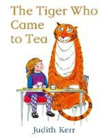 The Tiger Who Came to Tea - Judith Kerr - cover