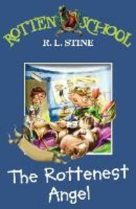 The Rottenest Angel - R. L. Stine - cover