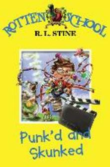 Punk'd and Skunked - R. L. Stine - cover