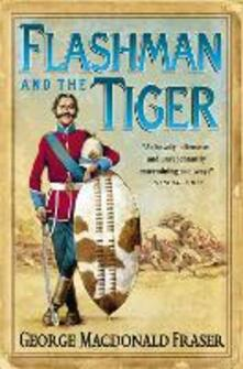 Flashman and the Tiger - George MacDonald Fraser - cover
