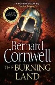 The Burning Land - Bernard Cornwell - cover