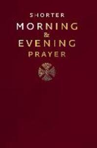 Shorter Morning and Evening Prayer - cover
