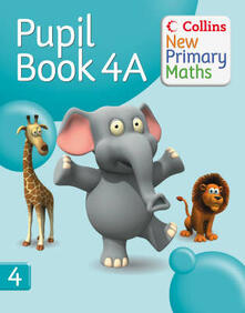 Pupil Book 4A - cover