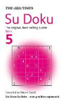 The Times Su Doku Book 5: 100 Challenging Puzzles from the Times - cover
