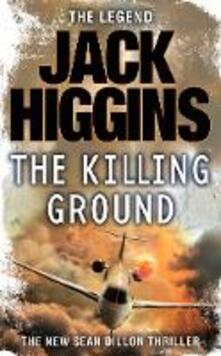 The Killing Ground - Jack Higgins - cover