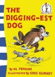 The Digging-est Dog - Al Perkins - cover