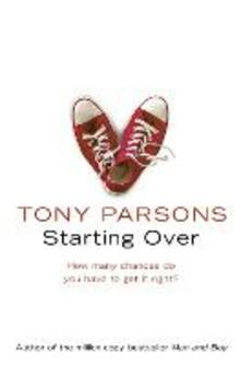 Starting Over - Tony Parsons - cover