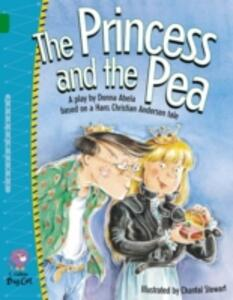 The Princess and the Pea: Band 15/Emerald - Donna Abela - cover