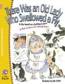 There Was an Old Lady Who Swallowed a Fly: Band 12/Copper - Mark Carthew,Michael Rosen - cover