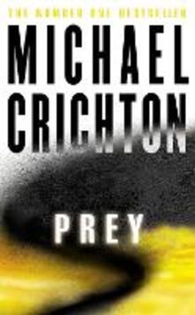 Prey - Michael Crichton - cover