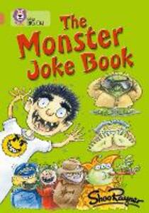 The Monster Joke Book: Band 12/Copper - Shoo Rayner - cover