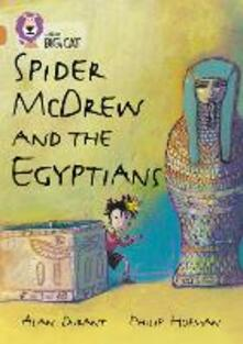 Spider McDrew and the Egyptians: Band 12/Copper - Alan Durant - cover