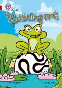 The Footballing Frog: Band 14/Ruby - Ann Jungman - cover