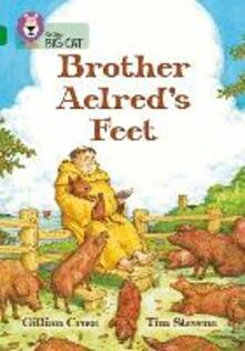 Brother Aelred's Feet: Band 15/Emerald - Gillian Cross - cover