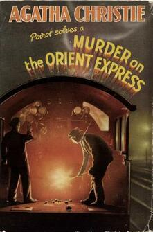 Murder on the Orient Express - Agatha Christie - cover