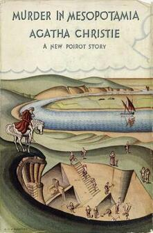 Murder in Mesopotamia - Agatha Christie - cover