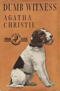 Dumb Witness - Agatha Christie - cover