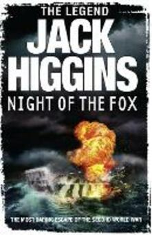 Night of the Fox - Jack Higgins - cover