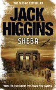 Sheba - Jack Higgins - cover