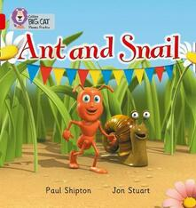 Ant and Snail: Band 02a/Red a - Paul Shipton - cover