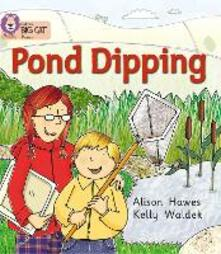 Pond Dipping: Band 02b/Red B - Alison Hawes - cover