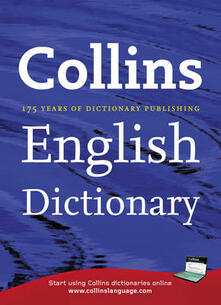 Collins English Dictionary Home Edition - cover